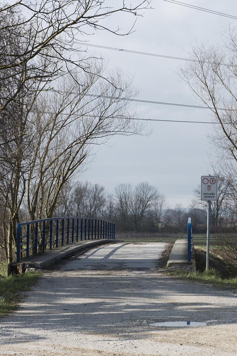 Small border crossing Harminca(HR) /Rigonce (SLO)