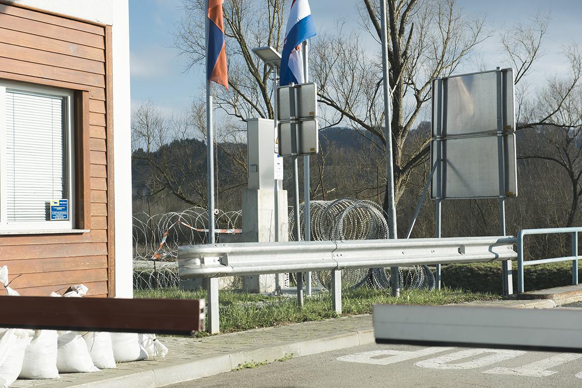 border crossing Slovenia-Croatia